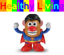 Healthy Living Website