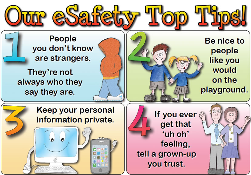 KS1 e-Safety Tips